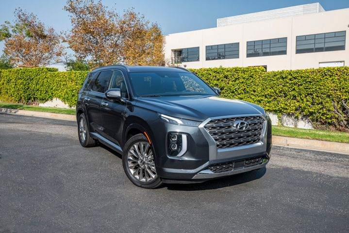 Hyundai's 2020 Palisade three-row SUV retails for $32,595 for the base model. - Photo by Kelly Bracken.