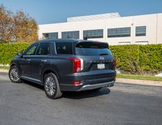 The SUV achieves an EPA-rated 19 mpg in the city and 24 mpg on the highway.