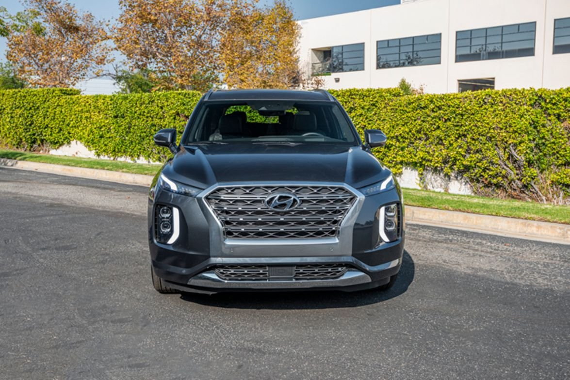 Hyundai's 2020 Palisade three-row SUV gives the company its largest SUV.