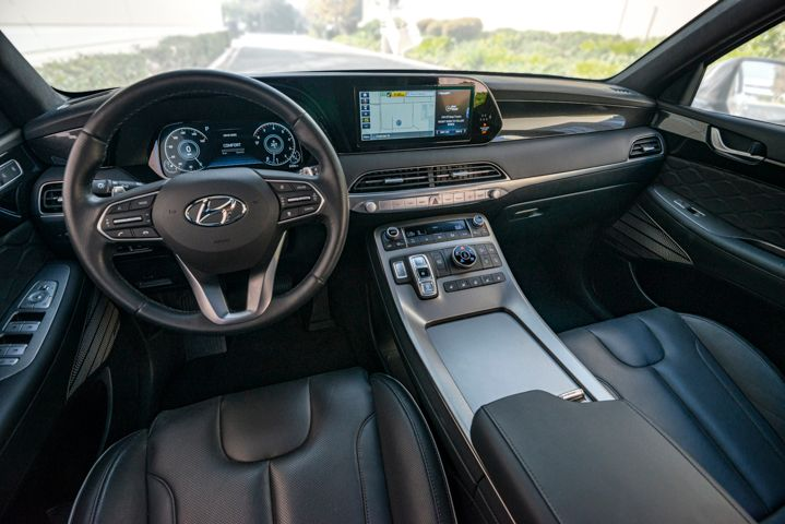 The midsize SUV's interior appointments and technology make it a near-luxury offering. - Photo by Kelly Bracken.