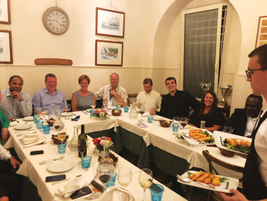 Seventeen members of the AFLA Globalization Committee held a dinner meeting at the Global Fleet...