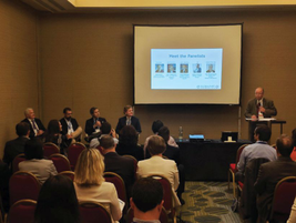 The panel on Europe's new General Data Protection Regulation (GDPR) drew attendance to capacity....
