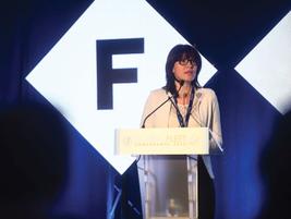 Adriana Holban, global category leader fleet & travel for Heineken International, presented a...