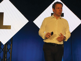 David Omodei, senior procurement engagement manager for Microsoft, presented a case study on...