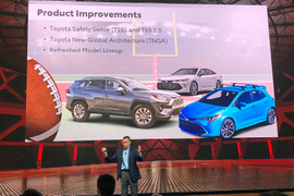 Toyota's 2018 Fleet Executive Meeting