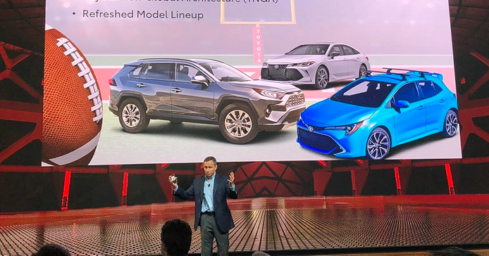Dave Depew, general manager, fleet sales for Toyota Motor North America, welcomed attendees to...
