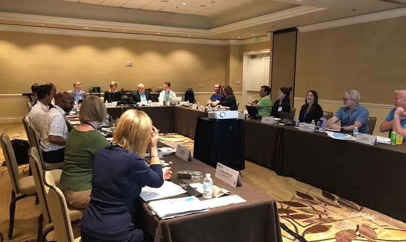 The AFLA Board of Directors met on Sunday, Sept. 30, 2018.