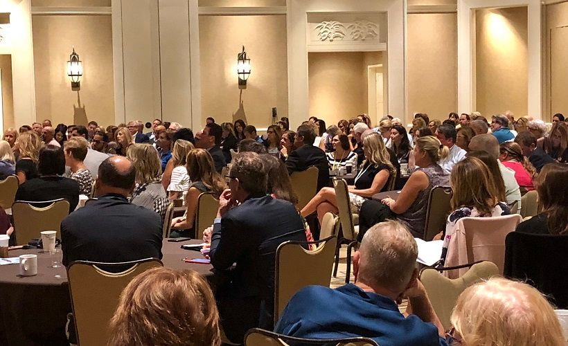 It was standing room only at the Women in Fleet Management (WIFM) meeting.