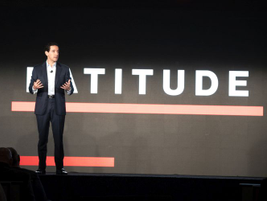 Andrés Irlando, Verizon Connect's CEO, told the audience that in the future telematics will...