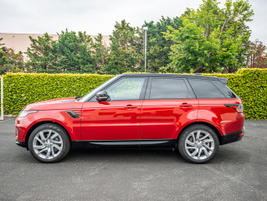 The 2019 Range Rover Sport PHEV can go from 0-60 mph in 6.3 seconds.