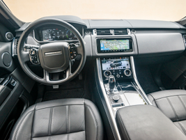 Entering a destination on the vehicle's navigation system engages the vehicle's predictive...