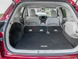 Cargo space expands to 54.9 cubic feet with the second row folded down.