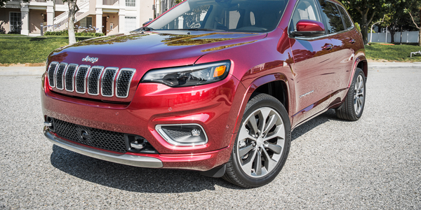 The Cherokee is adding a 2.0-liter four-cylinder engine for 2019 to go with the standard...