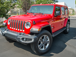 The four-door Wrangler Unlimited sells about 80% of Wrangler volume compared to the two-door...