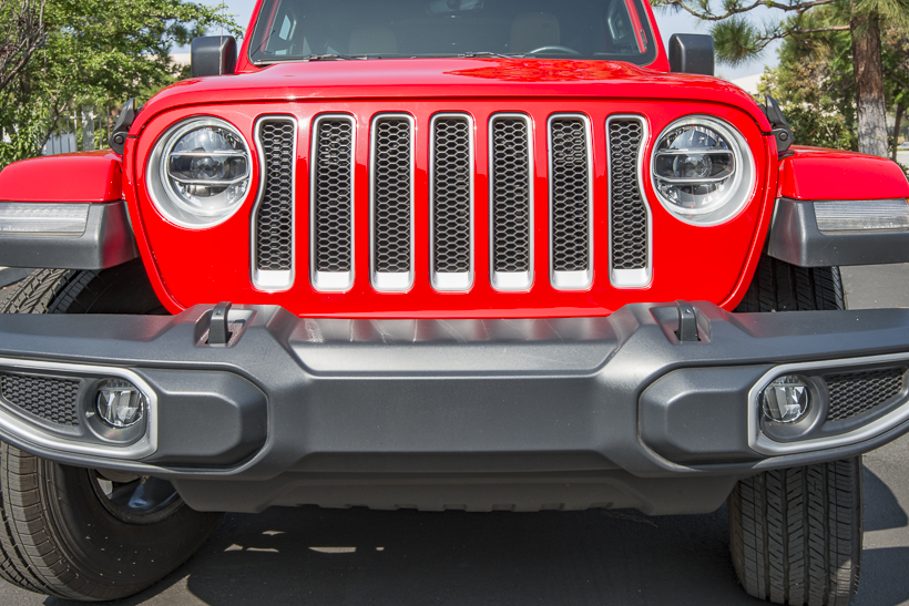 The headlights and daytime running lights have been separated, with the DRLsnow mounted in the...