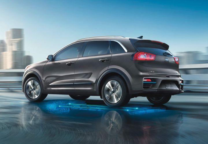 The 2019 Kia Niro EV, which was introduced at the 2018 LA Auto Show, should provide 239 miles of...