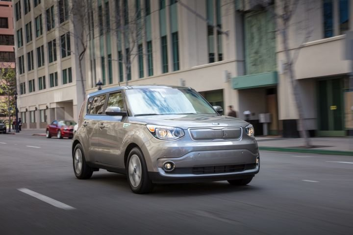 The 2019 Kia Soul EV, which will enter a new generation in 2020, provides 111 miles of range and...
