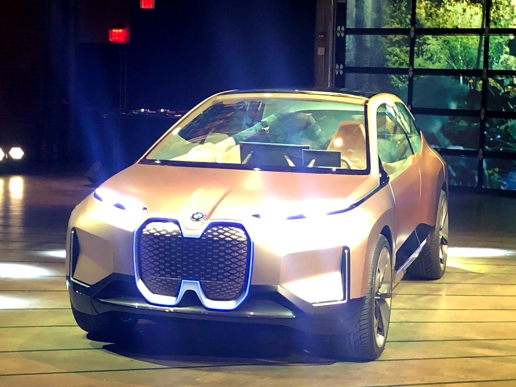 BMW plans to produce its iNEXT concept as a fult autononmous, battery-electric luxury SUV with...