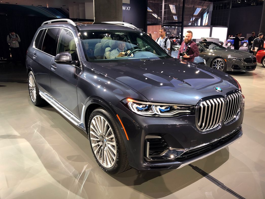 BMW's 2019 X7 arrives in March as the first three-row SUV from the company.
