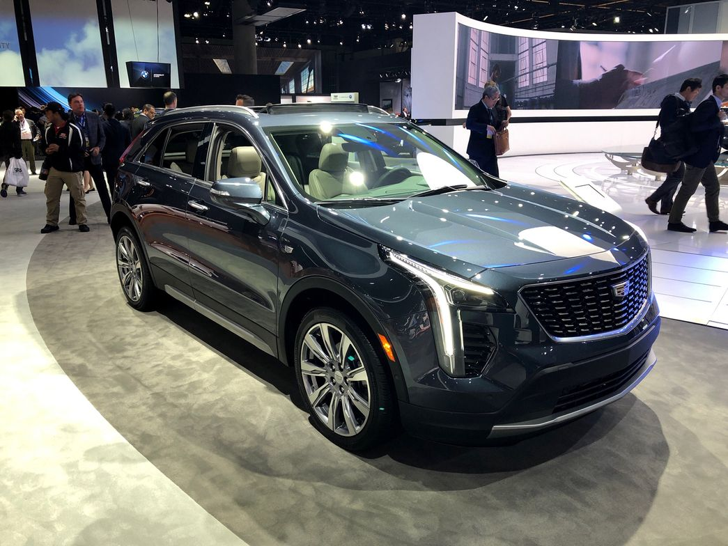 The 2019 Cadillac XT4 will serve as the entry model below the XT5, Escalade, and long-wheelbase...