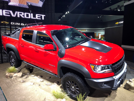 Chevrolet's 2019 Colorado ZR2 Bison is a performance variant developed in collaboration with...