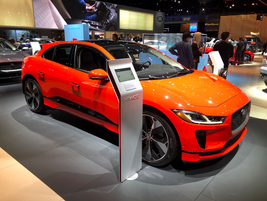 The 2019 Jaguar I-Pace will arrive at dealer lots in November to challenge other high-end...