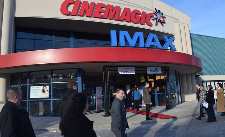 Merchants Fleet held the summit at the Cinemagic movie theatre in Hookset, New Hampshire. The summit featured activities, food, music, and presentations by leadership. - Photo by Andy Lundin.
