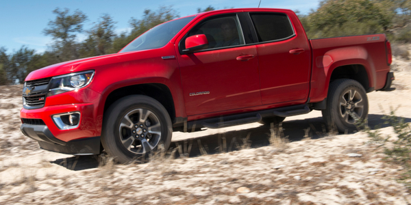 The Chevrolet Colorado added a diesel model for 2018, and at one time offered a box-delete...