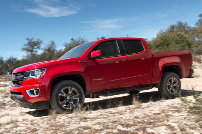 The Chevrolet Colorado added a diesel model for 2018, andat one time offereda box-delete...