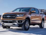 Ford reintroduced its Ranger after an eight-year hiatus as a larger pickup than its earlier...