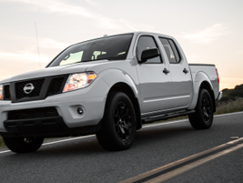 Nissan added a few enhancements, including a 7-inch screen, to its Frontier for 2019.