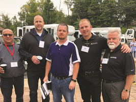 Local fleet managers and owners had an opportunity to network at Truck Fest with members of the...