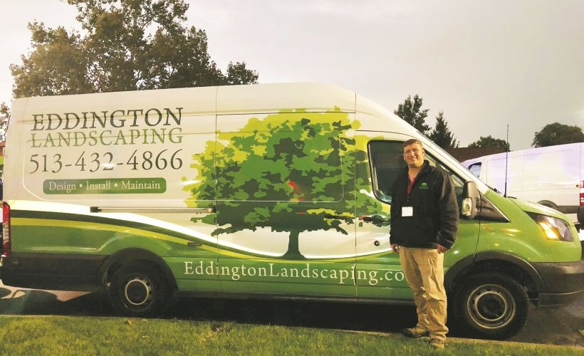 On display at Truck Fest was Eddington Landscaping, which is a client of MAFS. Owner Camden...