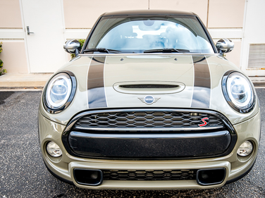 BMW's Mini division offers its Cooper S 4-Door Hardtop in three trim grades, including Iconic,...