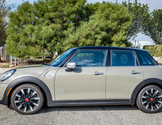 Mini simplified the trim grades for the 2019 model year. The Cooper and Cooper S (shown) offer a...