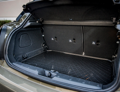 Cargo volume ranges from 8.7 to 13.1 cubic feet and 38 to 40.7 cubic feet with the seating area.