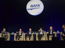 The final day of the NAFA I&E 2019 kicked off with a fleet management executive panel, featuring...