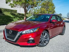 Nissan will offer six 2019 Altima models, including the base S, SR, SV, SL, Platinum, and...