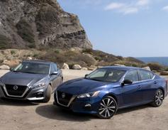 The Santa Barbara coastline near Point Mugu provided a good backdrop for the sedan.