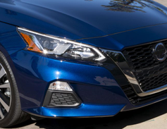The front headlights add LED daytime running lights.