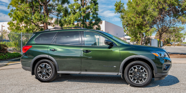 Nissan's 2019 Pathfinder Rock Creek is available on two trim grades for $995, and adds a bit...
