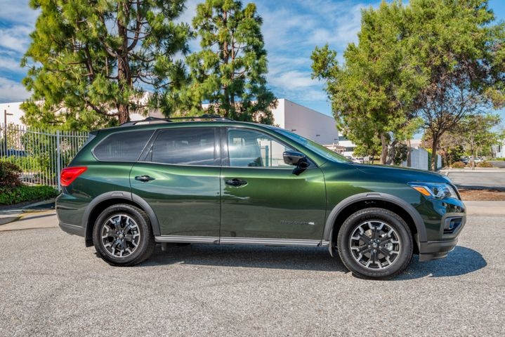Nissan's 2019 Pathfinder Rock Creek is available on two trim grades for $995, and adds a bit more customization.