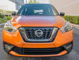 The Kicks offers Intelligent Auto Headlights,available LED headlights,standard roof...