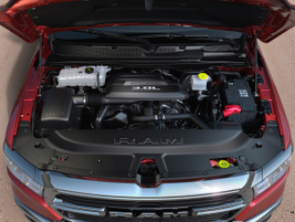 The 3.0L EcoDiesel V-6 is rated at a 480 lb.-ft. of torque at 1,600 rpm, a 14% increase from the...