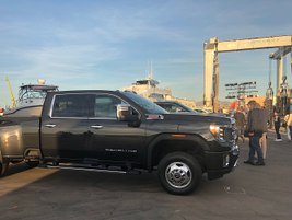 To address feedback from fleet managers, GMC designed the 2020 Sierra HD to have a lower pickup...