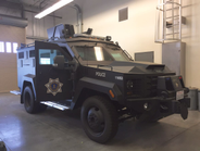 The San Jose Police Department has a new armored vehicle in its fleet.