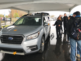 Subaru of America hosted a group of residual guide book editors to assess the company's all-new...