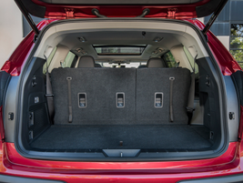 With all seating in place, cargo volume is between 17.6 to 17.8 cubic feet, depending on whether...