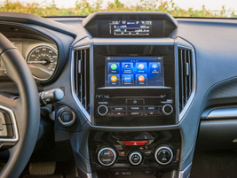 A new 6.5-inch infotainment touchscreen displays rearcamera views and other.