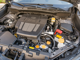 A reworked 2.5-liter four-cylinder Boxer engine brings incremental gains in horsepower and...